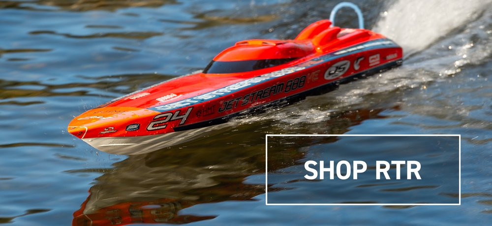 Shop RTR Boats