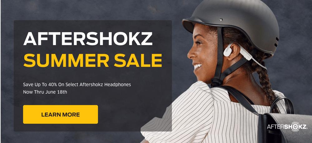 Shop Aftershokz SALE