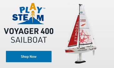 Shop PlaySTEAM Voyager 400 Sailboat