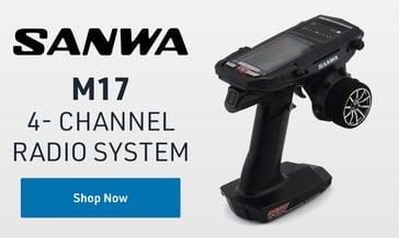 Shop Sanwa M17 Radio System