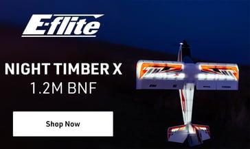 Shop E-Flite Night Timber X