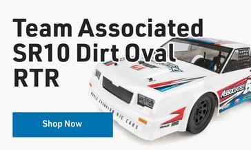 Shop Team Associated SR10 Dirt Oval RTR